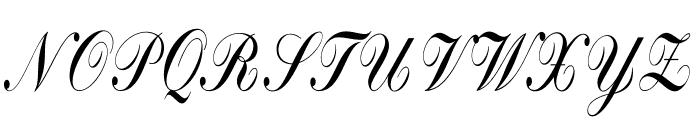 Bolina Font UPPERCASE