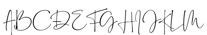 Bollivia Rosilla Script Font UPPERCASE