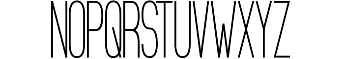 Bologna Sansish Font UPPERCASE