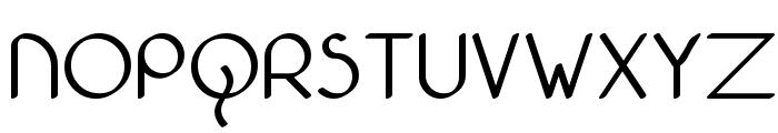 Bolonewt Font UPPERCASE