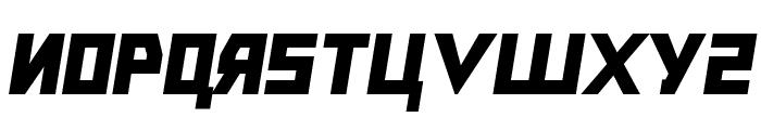 Bolshevik Black Oblique Font UPPERCASE