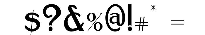 Bolton Sans Font OTHER CHARS