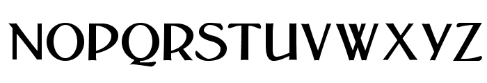 Bolton Sans Font UPPERCASE
