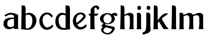 Bolton Sans Font LOWERCASE