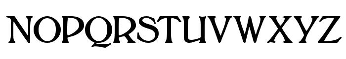 Bolton Font UPPERCASE