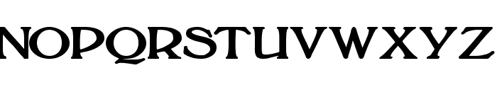BoltonBold Font UPPERCASE