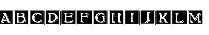 BoltonDropCaps Font LOWERCASE