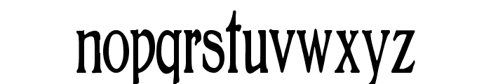 BoltonElongated Font LOWERCASE