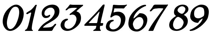 BoltonItalic Font OTHER CHARS