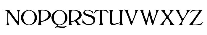 BoltonLight Font UPPERCASE