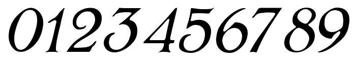 BoltonLightItalic Font OTHER CHARS