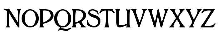 BoltonTitling Font UPPERCASE