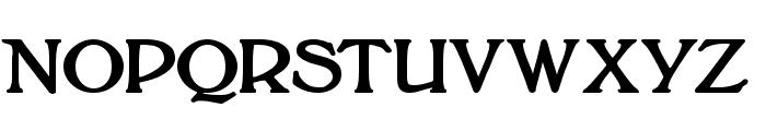 BoltonTitlingBold Font UPPERCASE