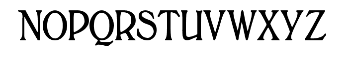 BoltonTitlingElongated Font LOWERCASE