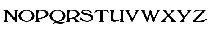 BoltonTitling Font LOWERCASE
