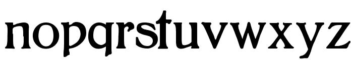 Bolton Font LOWERCASE