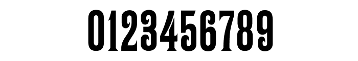 BomberNumbers Font OTHER CHARS
