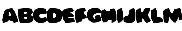 Bomberman Font UPPERCASE
