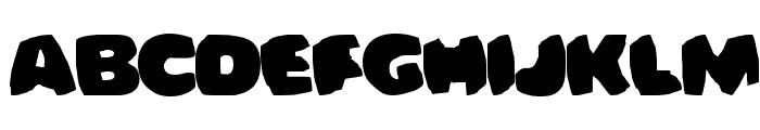 Bomberman Font LOWERCASE