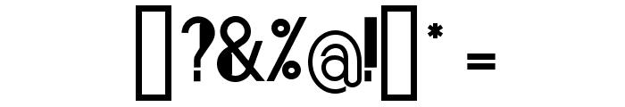 Bonafetti 2 Regular Font OTHER CHARS