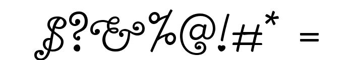 Bonbon-Regular Font OTHER CHARS