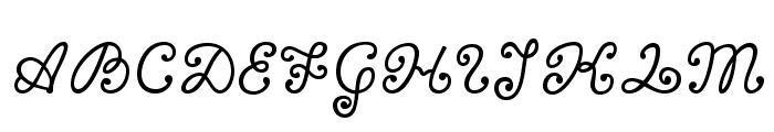 Bonbon-Regular Font UPPERCASE