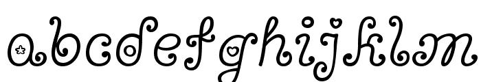 Bonbon Font LOWERCASE