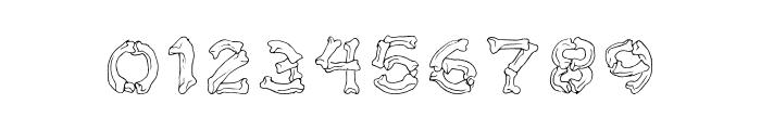 Bone Brigade Font OTHER CHARS