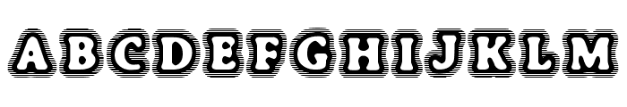 BoneHymie Font UPPERCASE