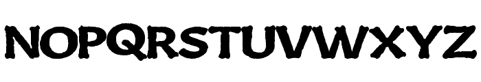 BoneKing Font UPPERCASE