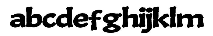 BoneKing Font LOWERCASE