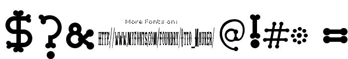 Bonecracker Font OTHER CHARS