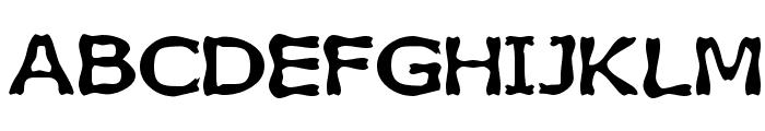 Boneribbon Bold Font UPPERCASE