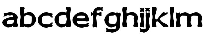 Boneribbon Bold Font LOWERCASE