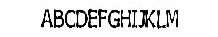 Boneribbon Tall Bolder Font UPPERCASE