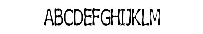 Boneribbon Tall Font UPPERCASE