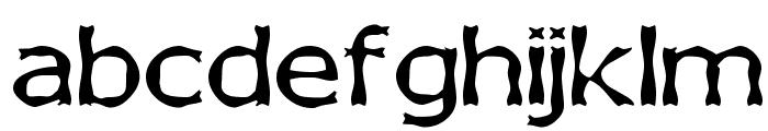 Boneribbon Font LOWERCASE