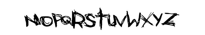 Bones Bummer Font LOWERCASE
