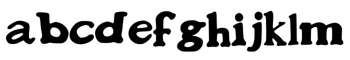 BonesOfGaramond Font LOWERCASE