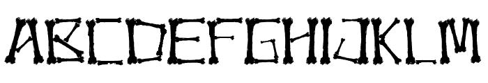 Bonez Font LOWERCASE