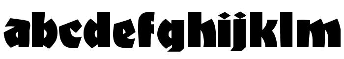 BongoFraktur Font LOWERCASE