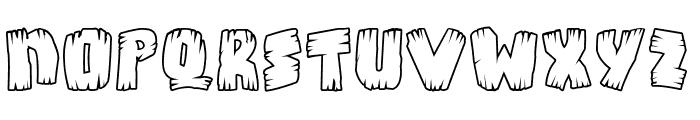 Bongus Highlight Font UPPERCASE