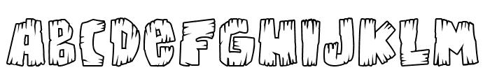 Bongus Highlight Font LOWERCASE
