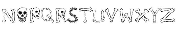 Bonified Font UPPERCASE