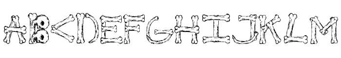 Bonified Font LOWERCASE