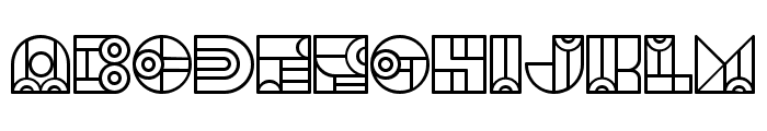 Bonjour Linear Regular Font LOWERCASE