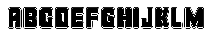 Bonk College Font UPPERCASE