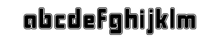 Bonk College Font LOWERCASE