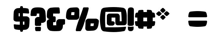 Bonk Fatty Font OTHER CHARS