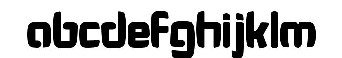 Bonk Fatty Font LOWERCASE